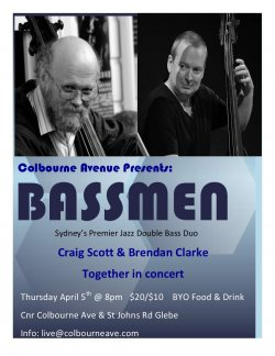 Colbourne Avenue presents: Bassmen
